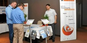Balkan Services showed a mobile application for analysis of retail data