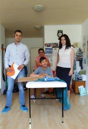 Balkan Services вече има нов приятел - малкият Любчо