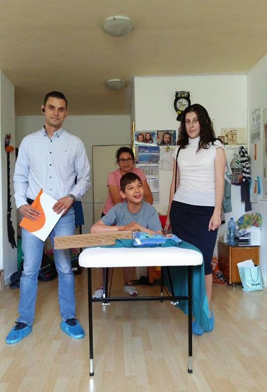 Balkan Services with a new friend – little Lubcho