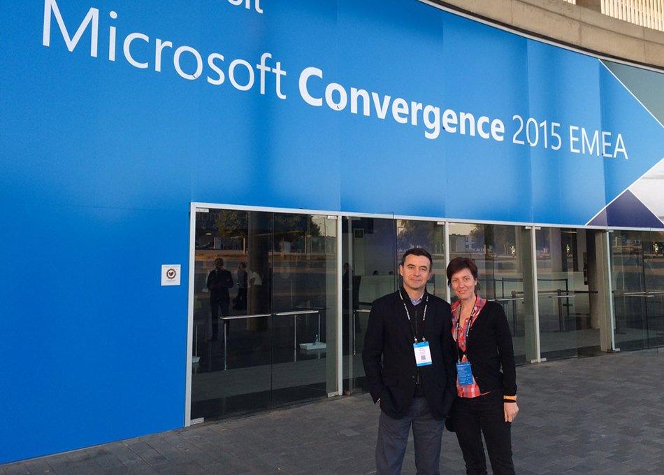 Balkan Services присъства на форума Convergence 2015 EMEA