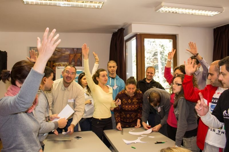 Balkan Services Teamwork training  - Balkanservices.com