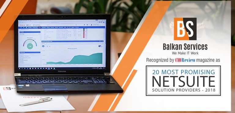 CIOReview Recognizes Balkan Services As A Top 20 Most Promising NetSuite Worldwide Solution Provider - Balkanservices.com