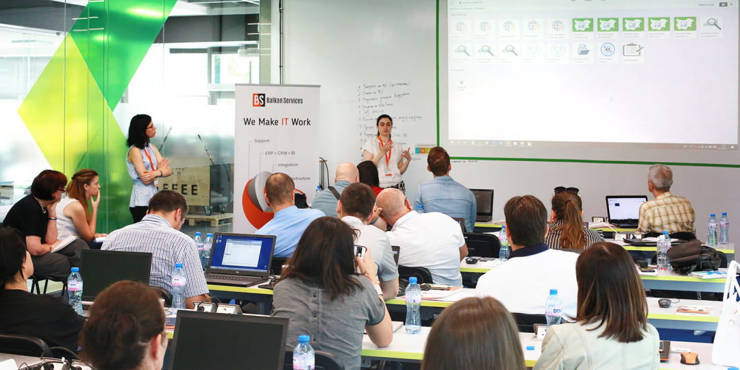 Balkan Services conducted the 23rd specialized Business Intelligence Training
