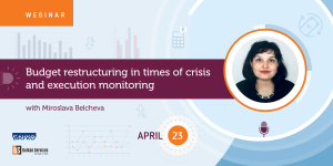 Webinar: Budget restructuring in times of crisis and execution monitoring - Balkan Services