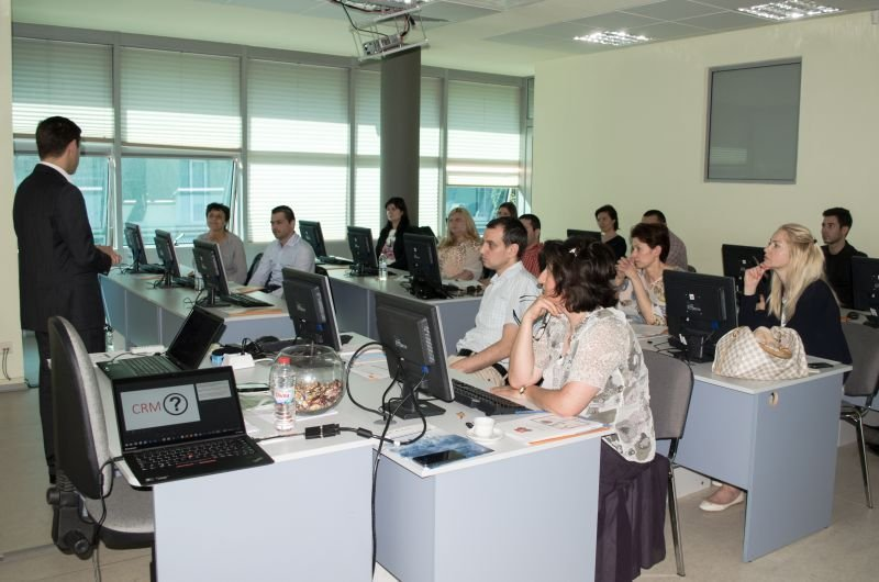 The consulting company Balkan Services organizes a one-day specialized CRM training - Balkanservices.com