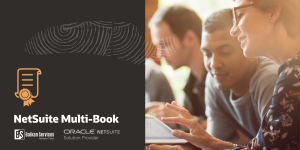 The first Balkan Services certified consultant for the NetSuite Multi-Book Accounting module