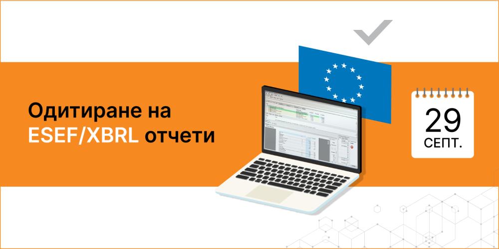 Уебинар: Одитиране на ESEF/XBRL отчети - Balkan Services
