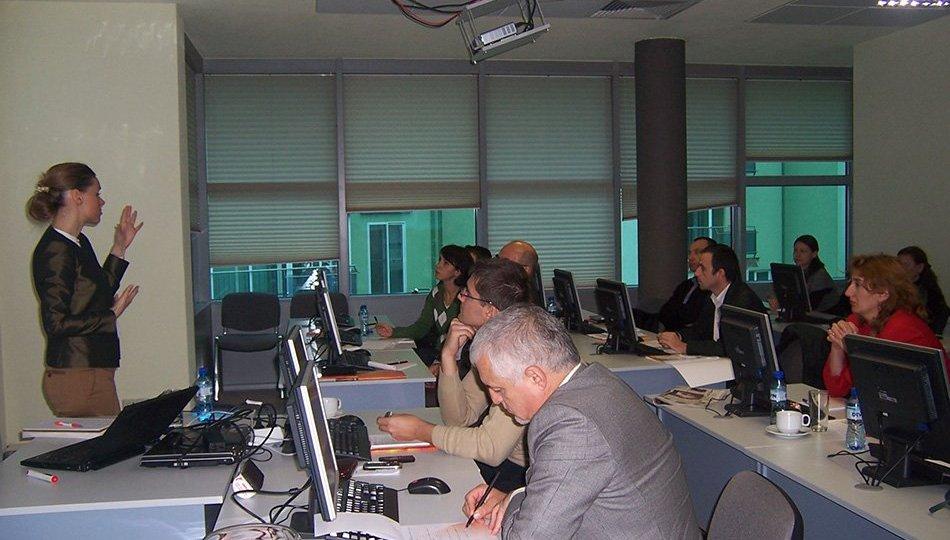 "Balkan Services has organized a BI training on ""Strategic management through an effective analysis"""