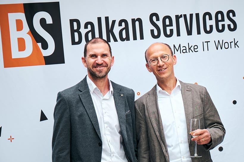 Посрещане на гости, Balkan Services 15-ти рожден ден - balkanservices.com
