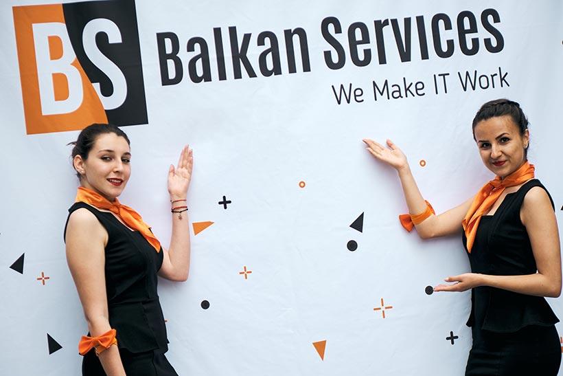 Парти по случай 15-ти рожден ден на Balkan Services - balkanservices.com