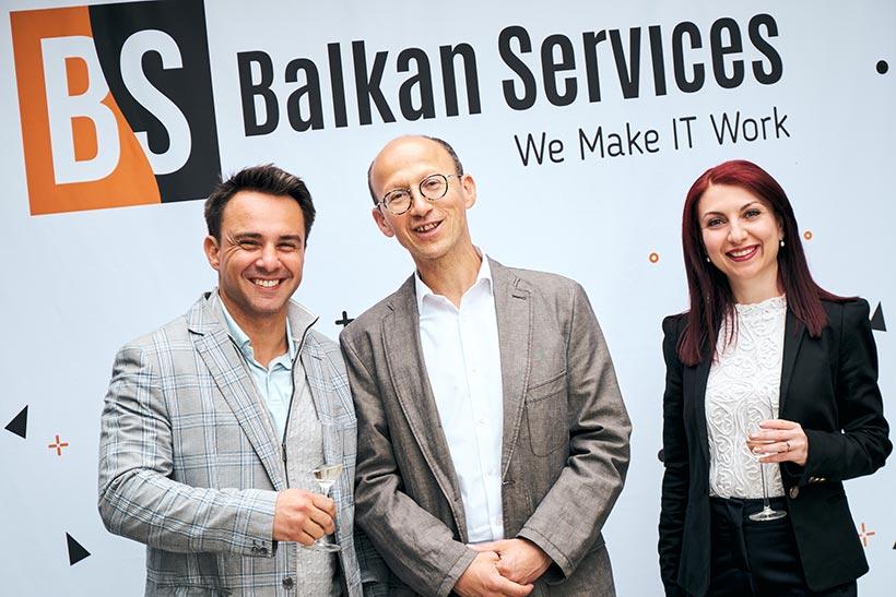 Гости на 15-тия рожден ден на Balkan Services - balkanservices.com