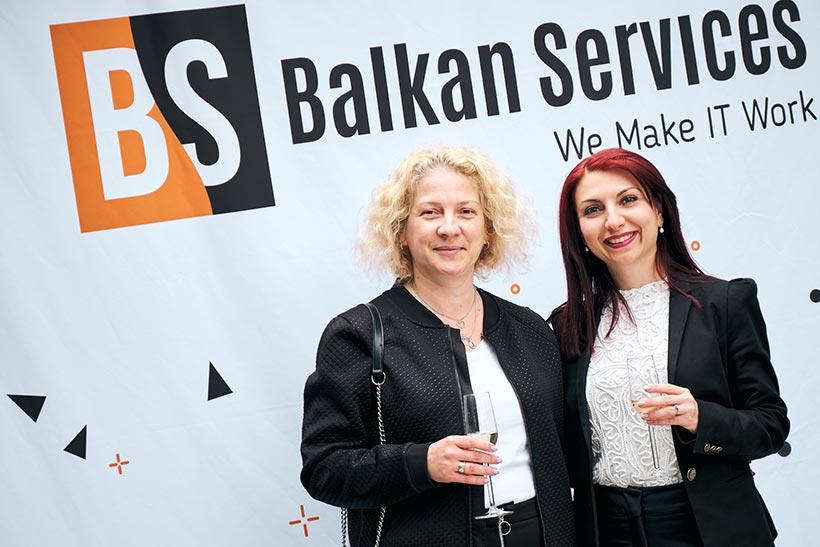 Партньор на Balkan Services, празненство за рожден ден - balkanservices.com