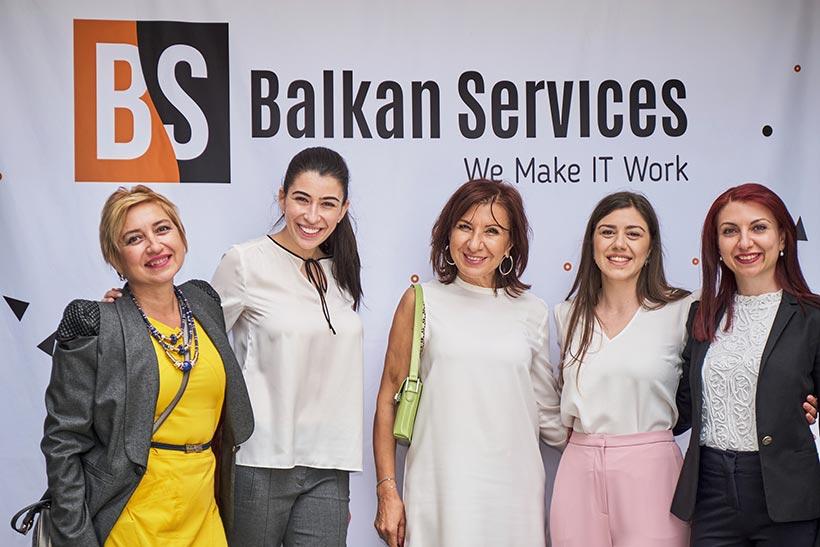 Посрещане на партньори на Balkan Services, 15-ти рожден ден - balkanservices.com
